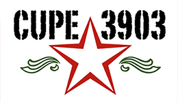 CUPE 3903 Logo