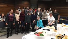 Markham councillors visit HREQ 3020 class (featured image)